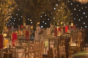 Marquee wedding furniture