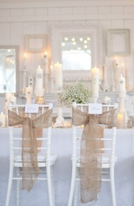 White Chiavari Banquet Chairs